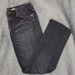 JCREW Factory Blue Straight Leg Jean's sz 29